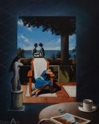 POUECH - Huile sur toile - 81 x 65 cm - vendu