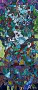 Cavadore - 2141 - acrylique sur toile - 190 x 80 cm