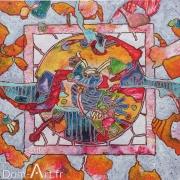 CAVADORE - 9141 - 90 x 90 cm