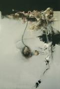 Salanié - HARUSPICES 7 - acrylique et pastel sur toile 195 x130 cm
