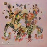 Gaiss - Constellation Organique : fusion- 100 x 100 cm technique mixte sur toile 2011