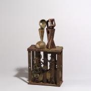 Gilles Hoang - Tête à Tête - 32 x 16 x 7 cm